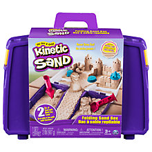 Buy Kinetic Sand Folding Sand Box Online at johnlewis.com