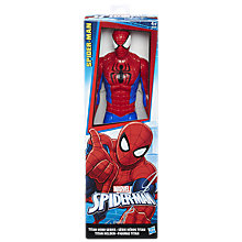 "Buy Marvel Titan Hero Series 12"" Spider-Man Action Figure Online at johnlewis.com"