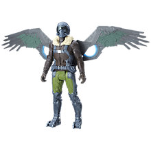 "Buy Spider-Man: Homecoming 12"" Electronic Marvel's Vulture Action Figure Online at johnlewis.com"