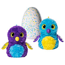 Buy Hatchimals Glittering Garden Draggle Egg Online at johnlewis.com
