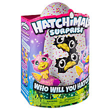 Buy Hatchimals Surprise, Pink/Blue/Multi Online at johnlewis.com