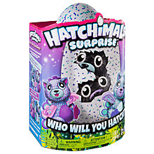 Buy Hatchimals Surprise, Purple/Blue Online at johnlewis.com