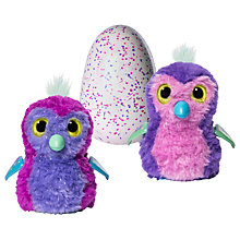 Buy Hatchimals Glittering Garden Penguala Egg Online at johnlewis.com
