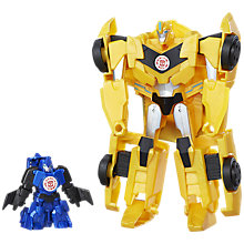 Buy Transformers Robots In Disguise Active Combiner Bumblebee Action Figure Online at johnlewis.com