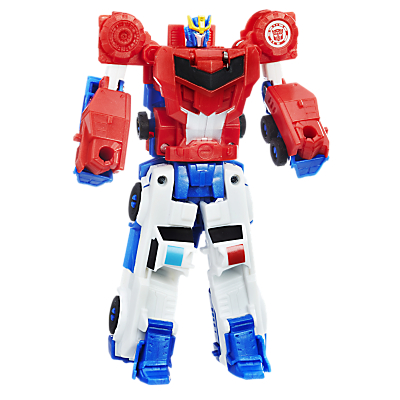 Transformers Robots In Disguise Crash Combiner Optimus Prime & Strongarm