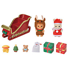 Buy Sylvanian Families Baby Sleigh Ride Online at johnlewis.com
