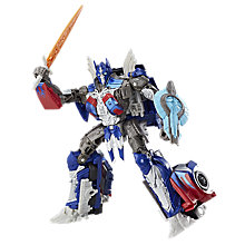Buy Transformers: The Last Night Voyager Optimus Prime Action Figure Online at johnlewis.com