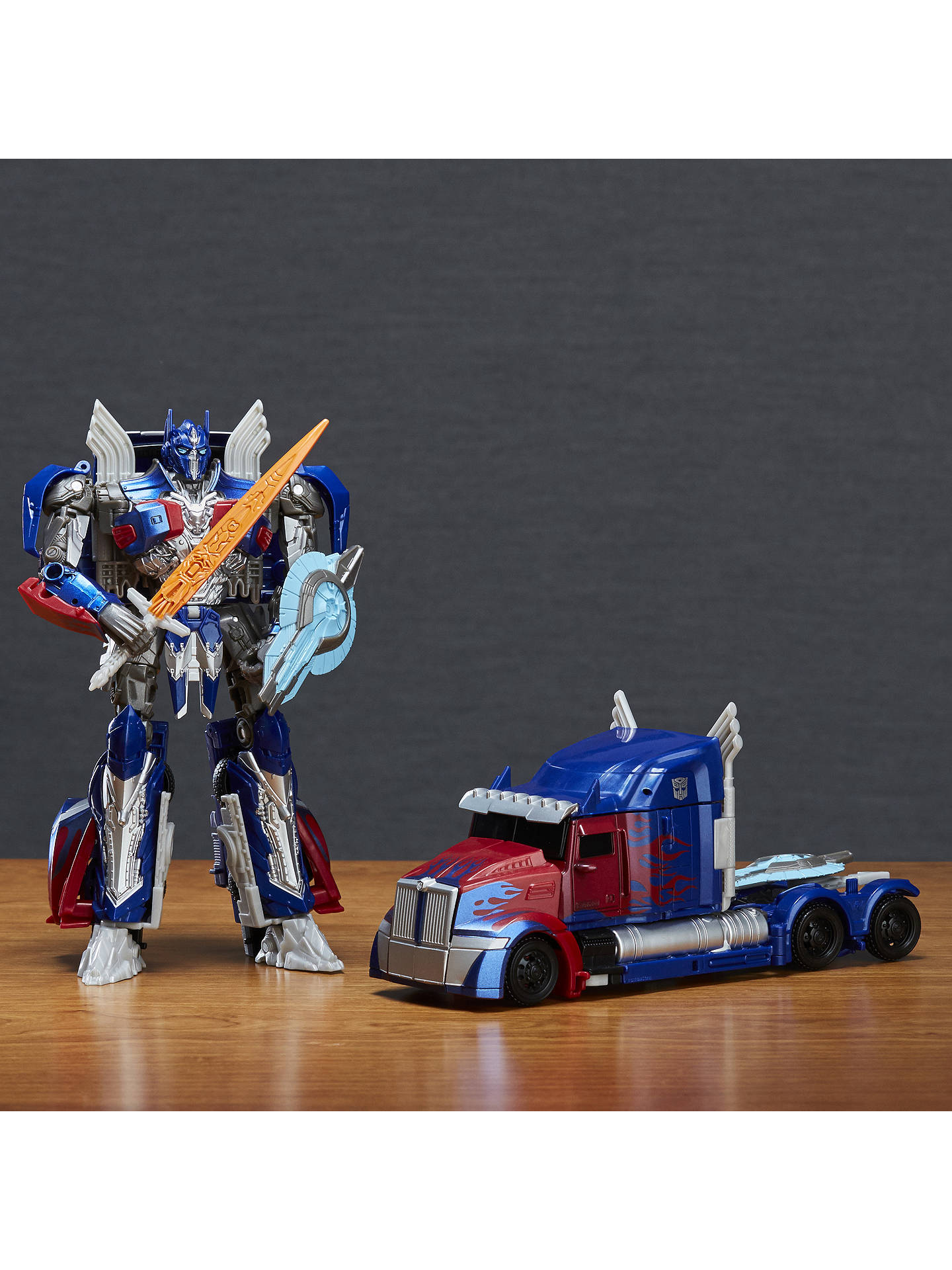 Transformers The Last Night Voyager Optimus Prime Action