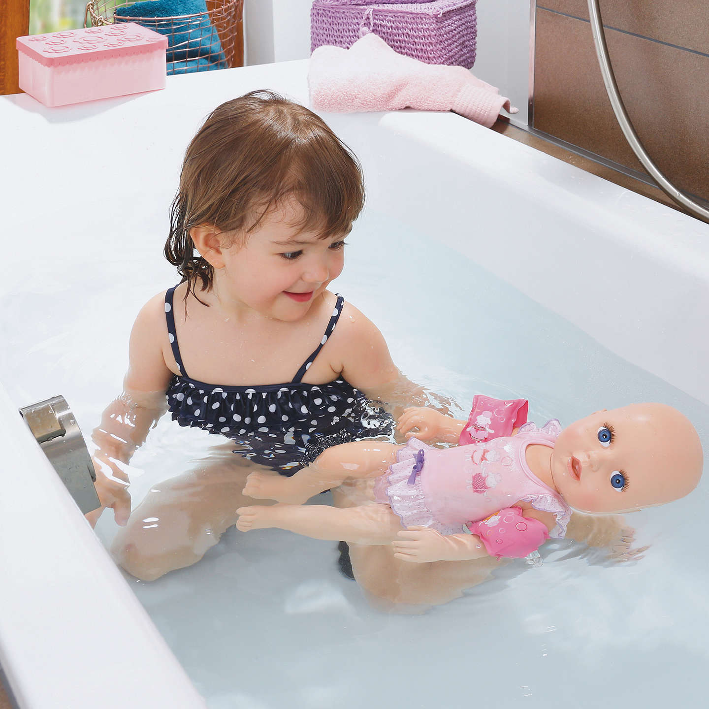 BuyBaby Annabell Learns To Swim Doll Online at johnlewis.com