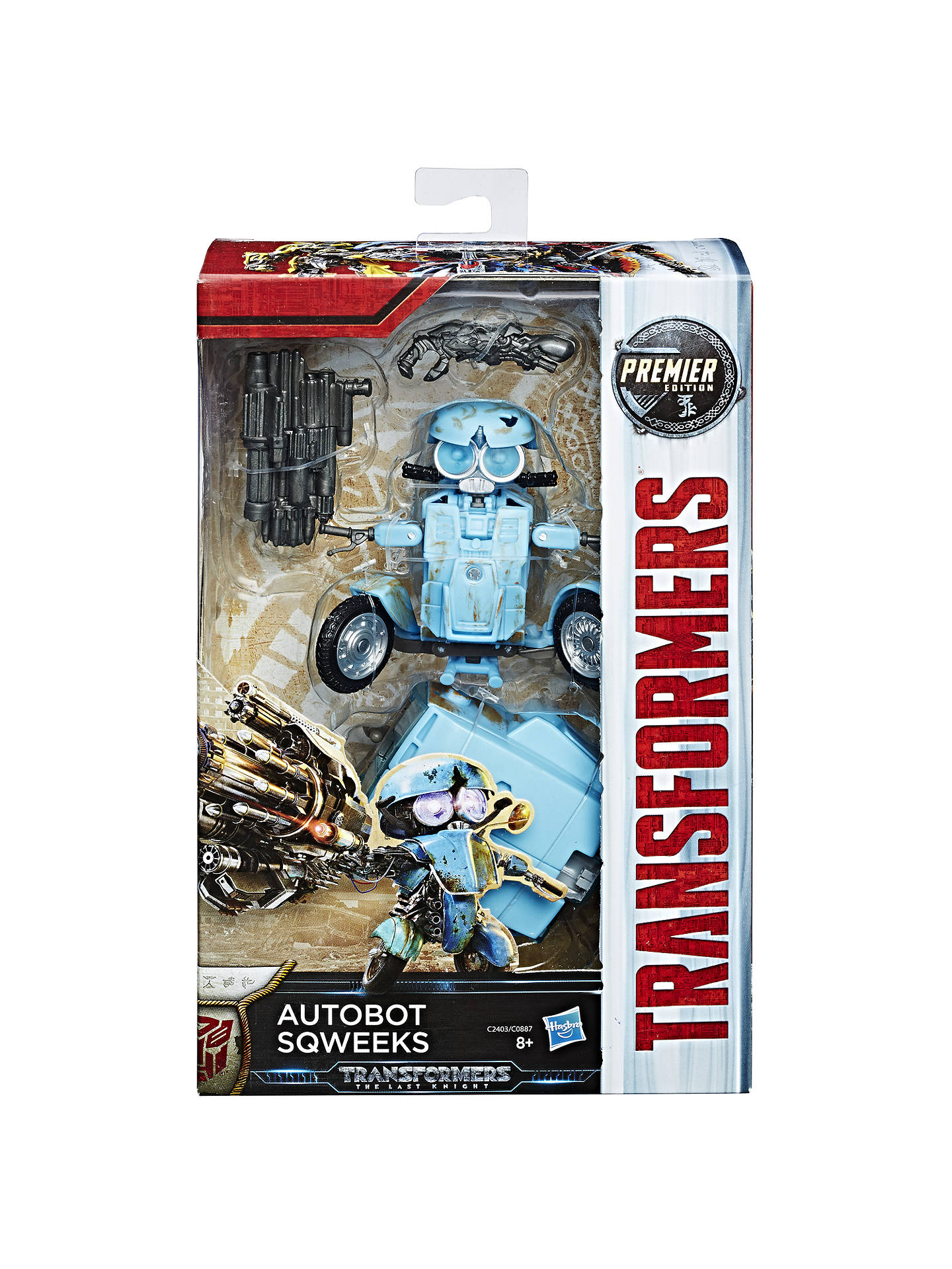 BuyTransformers: The Last Knight Premier Edition Autobot Sqweeks Action Figure Online at johnlewis.com