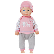Buy Baby Annabell Learns To Walk Doll Online at johnlewis.com