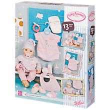 Buy Baby Annabell Deluxe Special Care Set Online at johnlewis.com