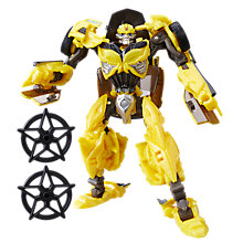 Buy Transformers: The Last Knight Premier Edition Autobot Bumblebee Action Figure Online at johnlewis.com