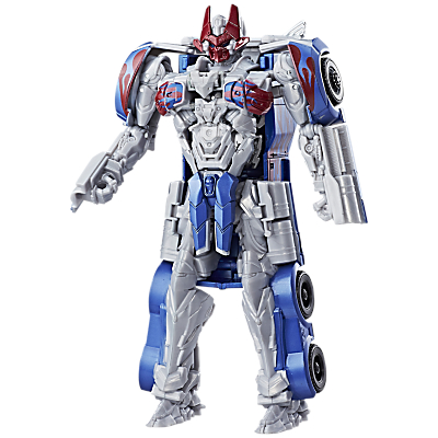 Transformers: The Last Knight Armour Turbo Changer Optimus Prime Action Figure
