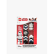 Buy LEGO 8021025 Star Wars Stormtrooper Watch Online at johnlewis.com
