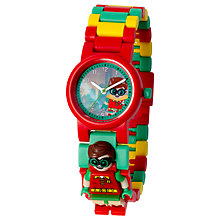Buy LEGO Batman 8020868 Robin Minifigure Link Watch Online at johnlewis.com