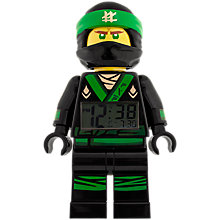 Buy LEGO Ninjago 9009204 Lloyd Clock Online at johnlewis.com