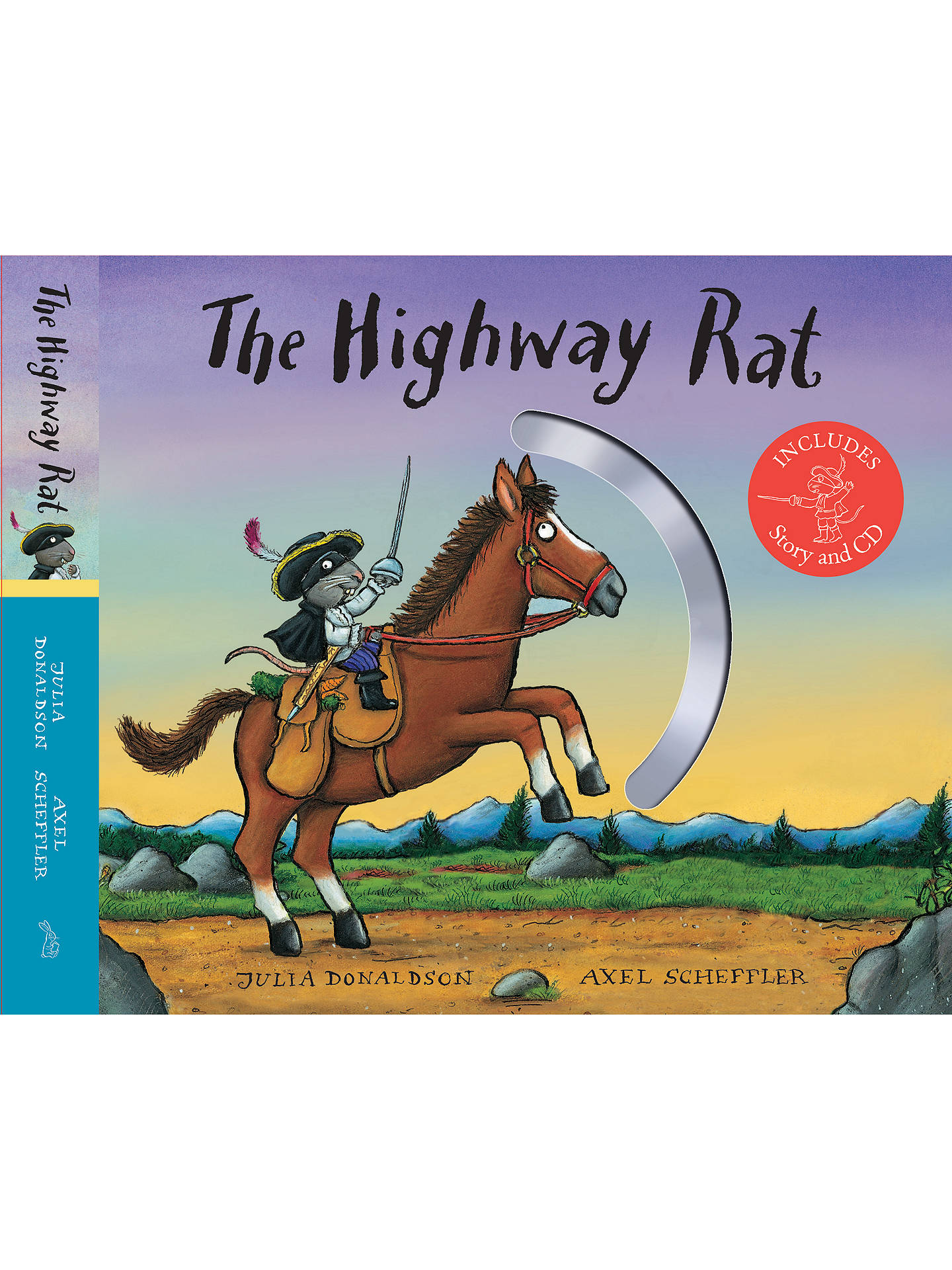 BuyThe Highway Rat Children's Book and CD Gift Edition Online at johnlewis.com