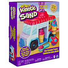 Buy Kinetic Sand Ice Cream Truck Online at johnlewis.com