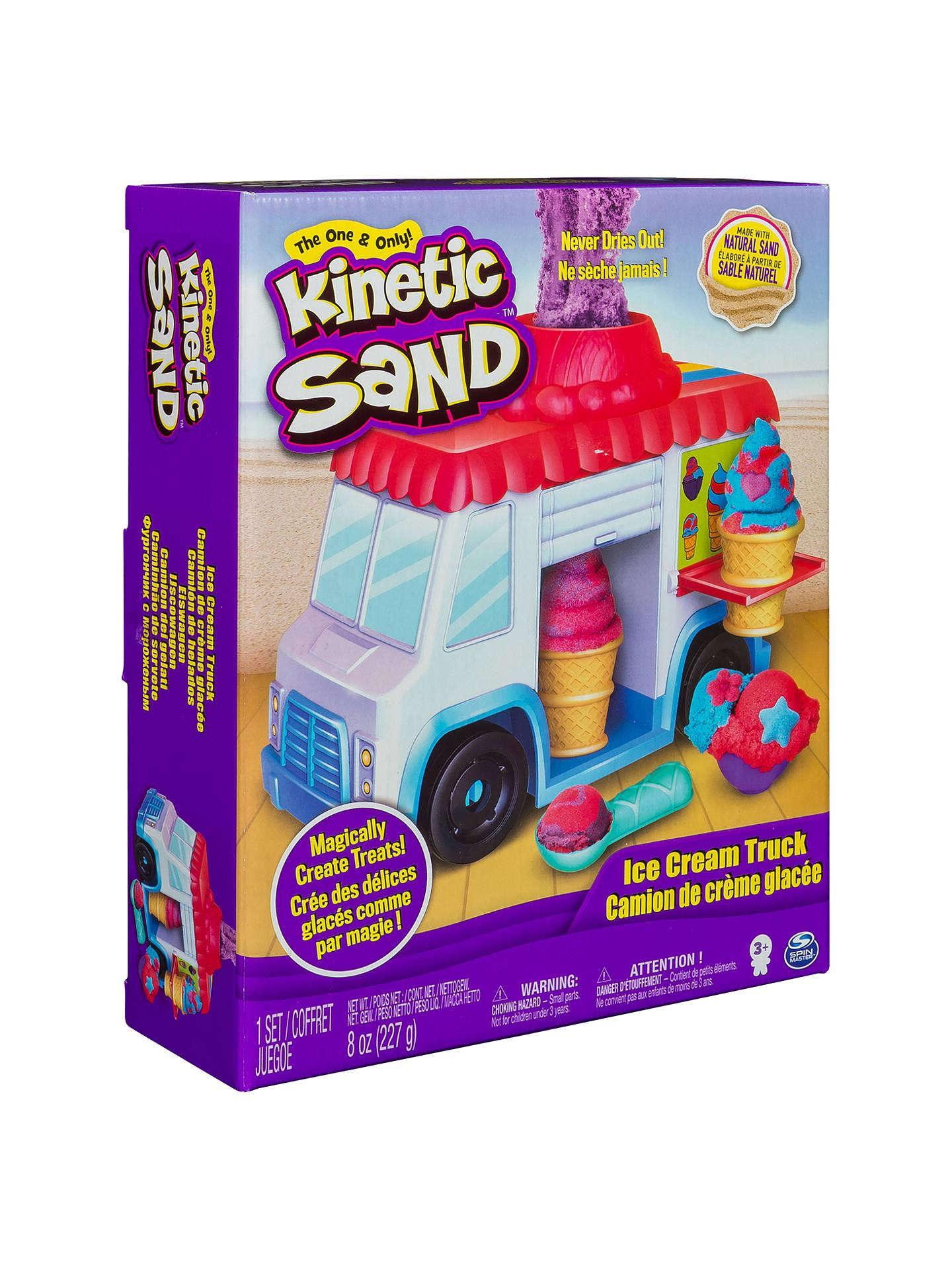 Ice Cream Truck Kinetic Sand
