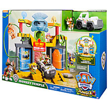 Buy Paw Patrol Monkey Temple Headquarters Playset Online at johnlewis.com