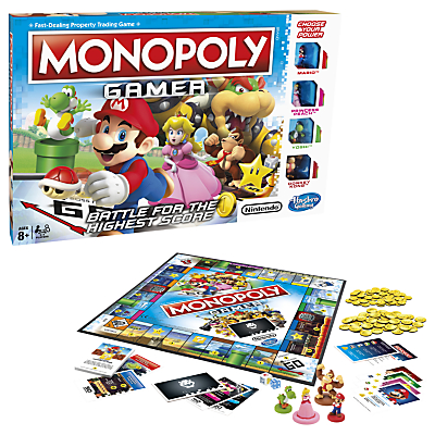 Image of Hasbro Gaming - Monopoly Gamer Edition