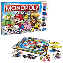 Buy Monopoly Nintendo Gamer Edition Online at johnlewis.com