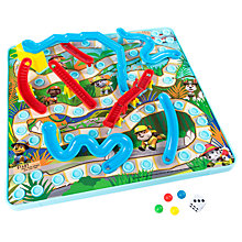 Buy Paw Patrol 3D Snakes & Ladders Game Online at johnlewis.com