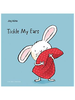 Tickle My Ears and Bathtime For Little Rabbit Children's Book Set