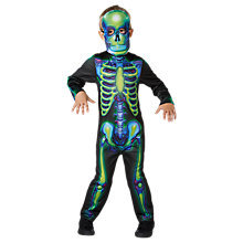 Buy Rubies Neon Skeleton Dressing-Up Costume Online at johnlewis.com