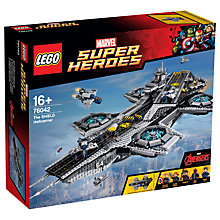 Buy LEGO Marvel Super Heroes  76042 The Shield Helecarrier Online at johnlewis.com