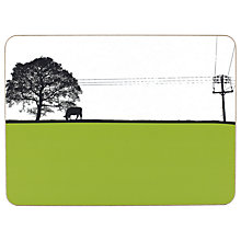 Buy The Art Rooms Green Yeadon Table Mat Online at johnlewis.com