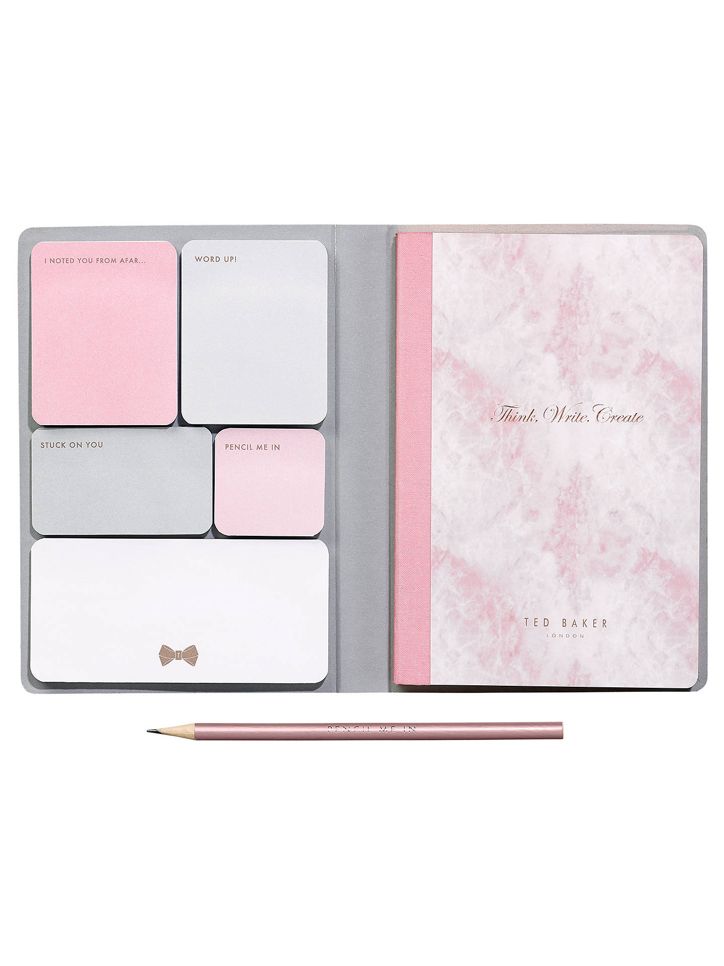 d0fbaa4bedfe ... Buy Ted Baker A5 Sticky Notes Notebook Online at johnlewis.com