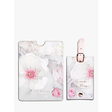 Buy Ted Baker Chelsea Luggage Tag & Passport Set Online at johnlewis.com