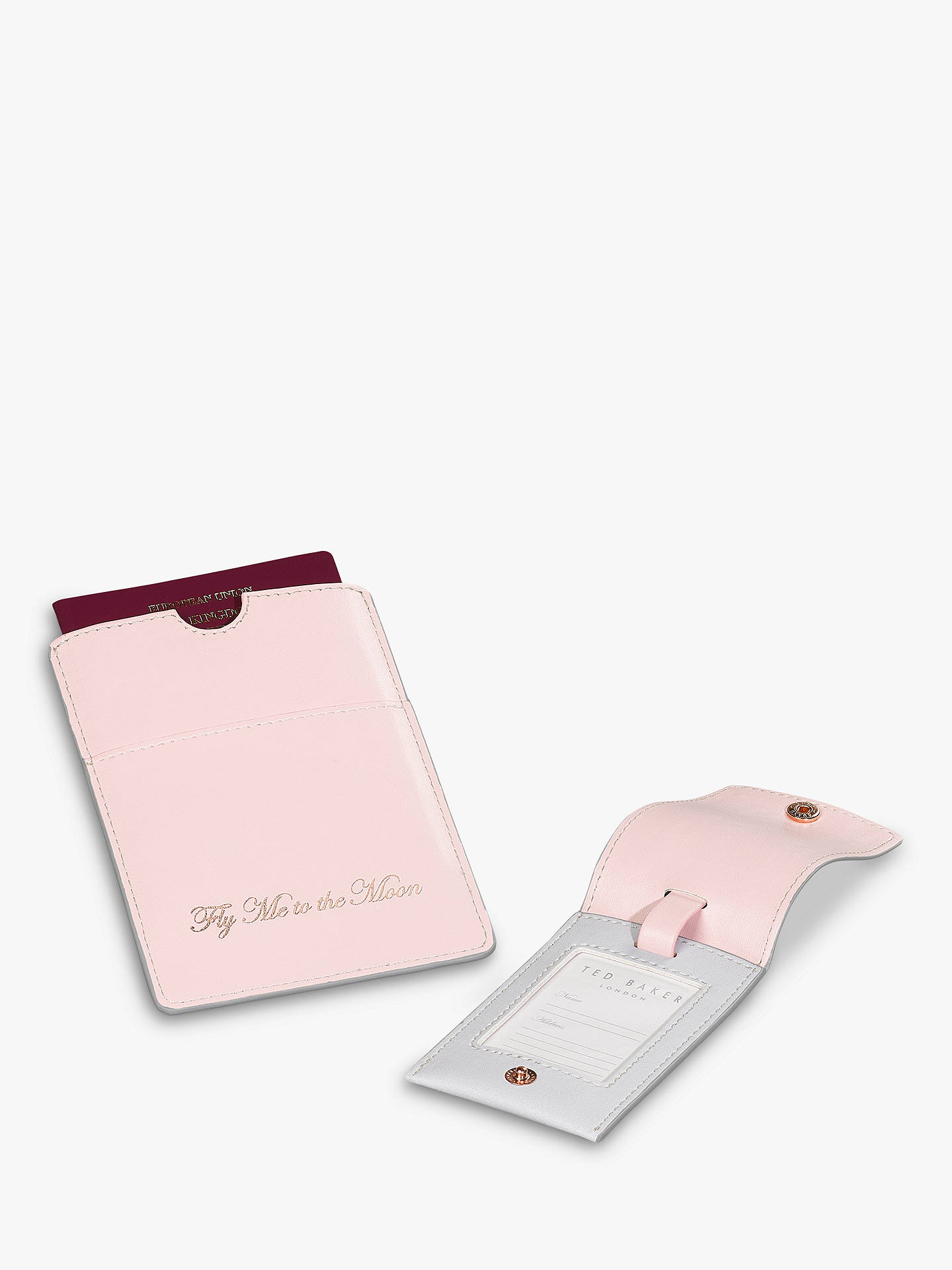 BuyTed Baker Chelsea Luggage Tag & Passport Set Online at johnlewis.com