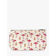 Buy Flamingo and Pineapple Make-up Bag Online at johnlewis.com