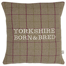 Buy The Little Button Co Heather Born and Bred Cushion, Brown Online at johnlewis.com