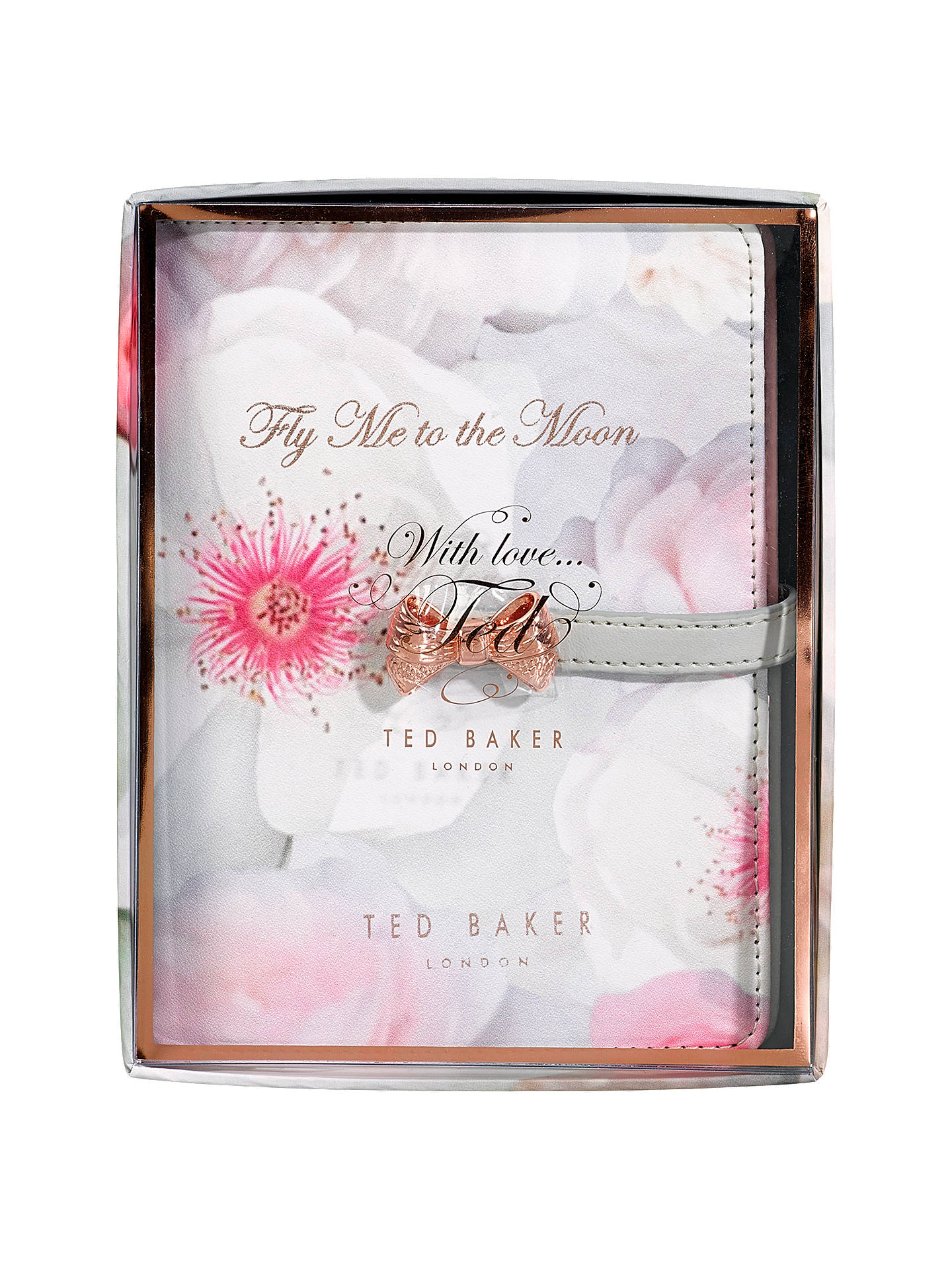 Ted Baker Travel Document Holder Chelsea Border At John