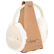 Buy Scion Mr Fox Ear Muffs, Parchment Beige Online at johnlewis.com