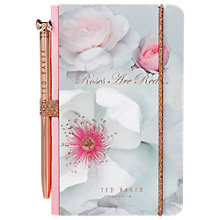 Buy Ted Baker Mini Notebook & Pen, Chelsea Border Online at johnlewis.com