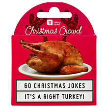Buy Talking Tables Christmas Joke Turkey Online at johnlewis.com
