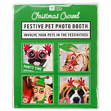 Buy Talking Tables Christmas Pet Photo Booth Kit Online at johnlewis.com