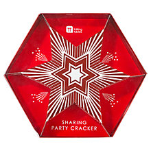 Buy Talking Tables Sharing Party Cracker, Red Online at johnlewis.com