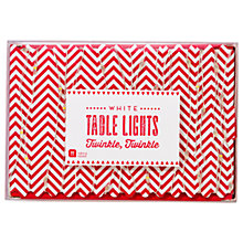 Buy Talking Tables Twinkle Twinkle Table Lights, White Online at johnlewis.com