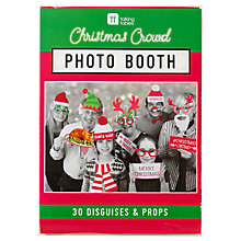 Buy Talking Tables Christmas Photo Booth Kit Online at johnlewis.com
