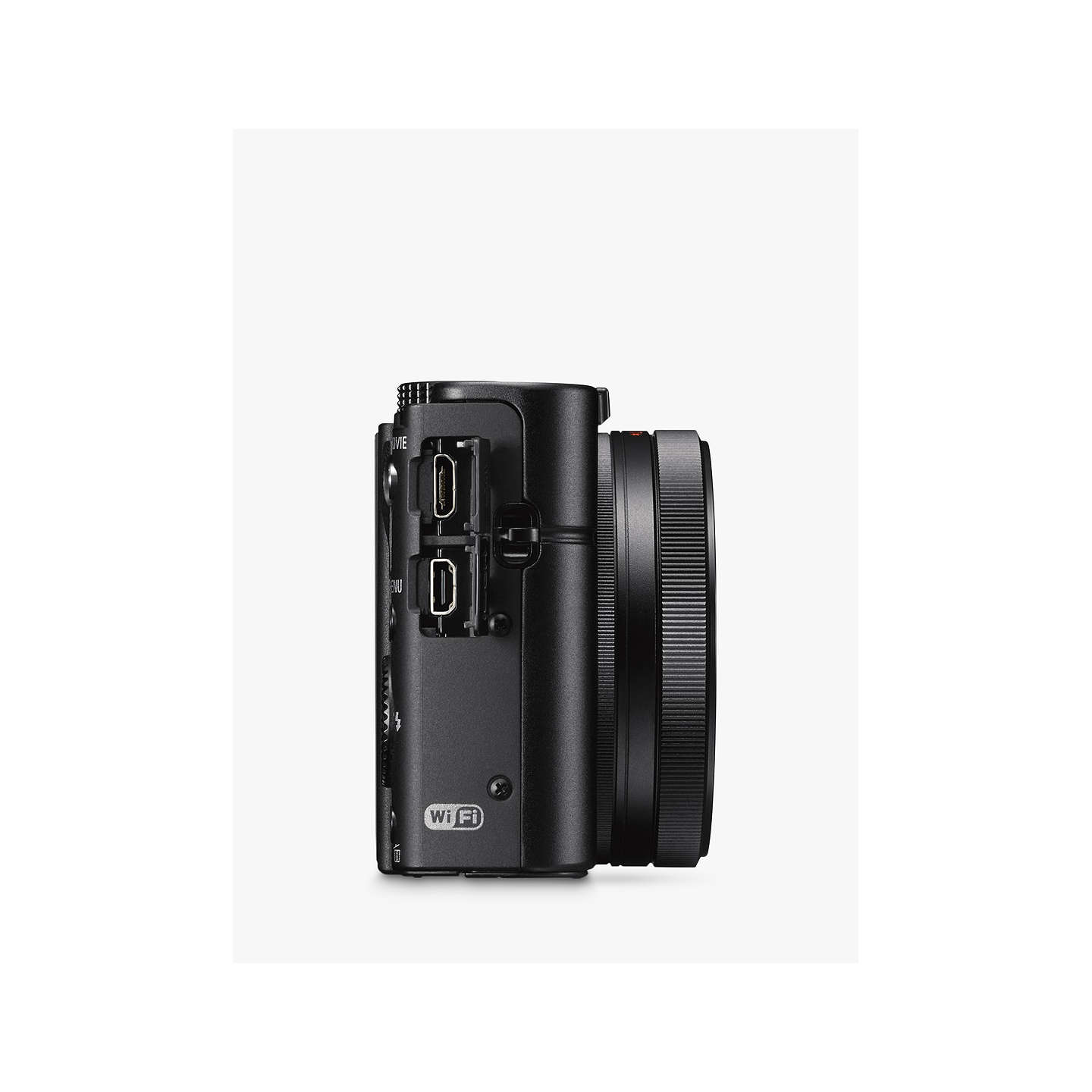 "BuySony Cyber-shot DSC-RX100 III Camera, HD 1080p, 20.1MP, 2.9x Optical Zoom, Wi-Fi, NFC, OLED EVF, 3"" Screen with Case & Attachment Grip Kit Online at johnlewis.com"