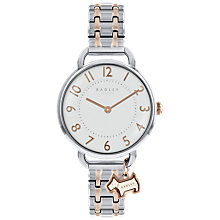 Buy Radley RY4301 Women's Southwark Bracelet Strap Watch, Silver/Rose Gold Online at johnlewis.com
