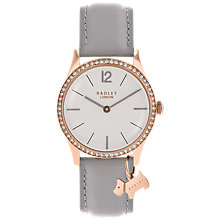 Buy Radley Women's Millbank Leather Strap Watch Online at johnlewis.com