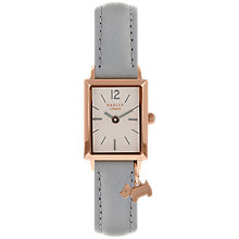 Buy Radley RY2532 Women's Primrose Hill Leather Strap Watch, Grey/White Online at johnlewis.com