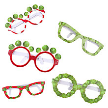 Buy Talking Tables Sprout Novelty Paper Glasses, Pack of 6 Online at johnlewis.com